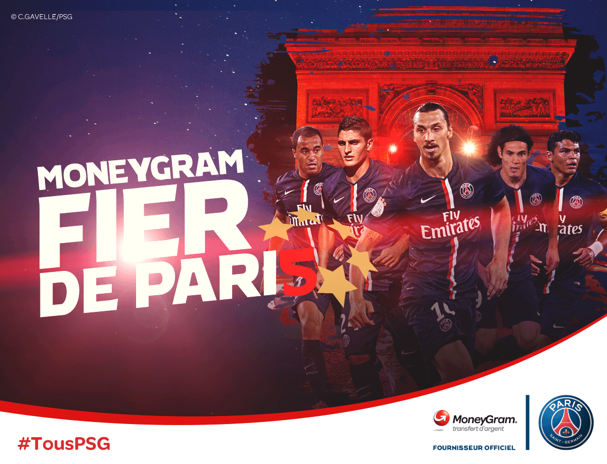 Case Study, MoneyGram Paris Saint-Germain